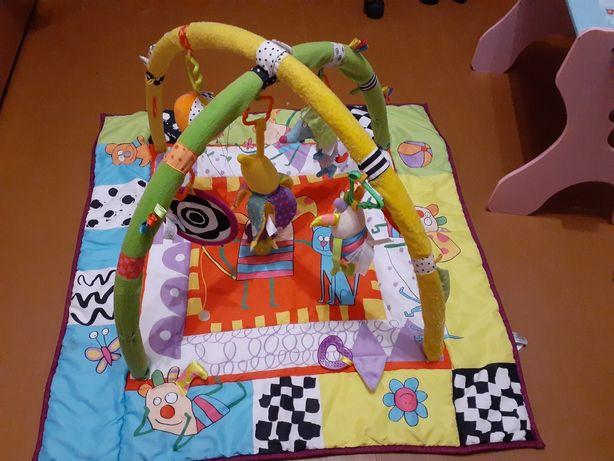 Интерактивный развивающий игровой коврик детский для детей