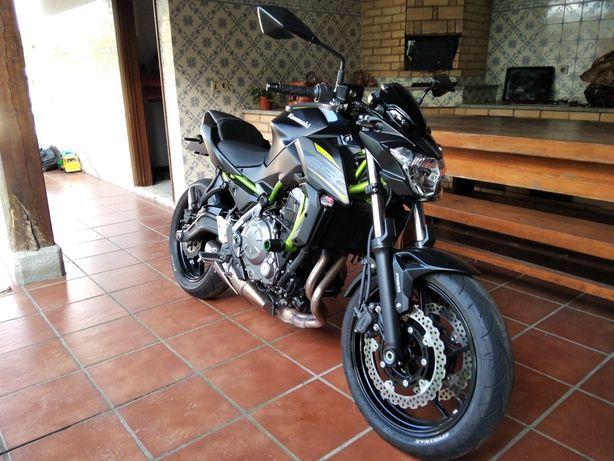 Kawasaki z650 50.2 kw