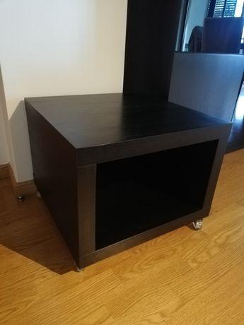Aparador madeira escura IKEA