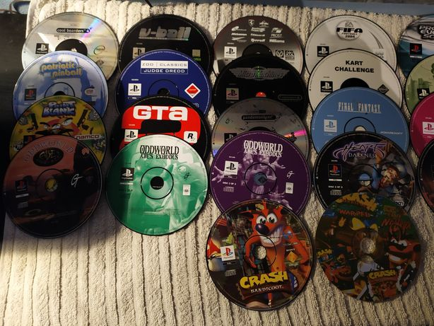 28 jogos PS1 lote ou separado