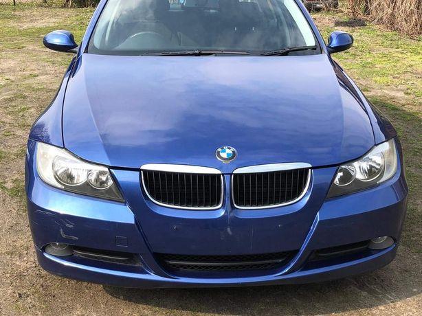 BMW E90 E91 zderzak przedni montego blau