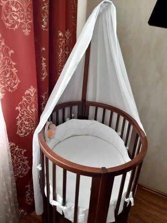 Кроватка Stokke Sleepi плюс максимальный комплект аксессуаров