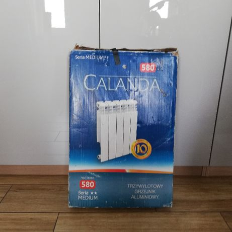 Grzejnik Calanda 580 - 5 żeberek
