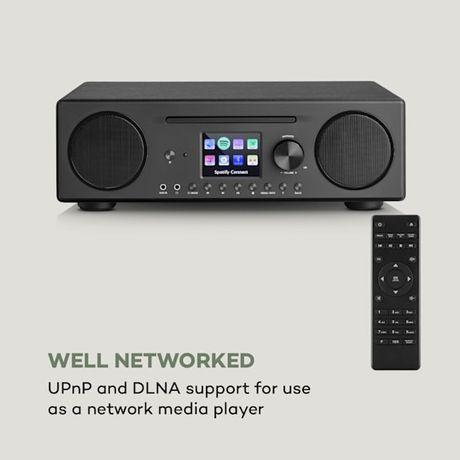 Connect CD Radio internetowe odtwarzacz multimedialnySpotify Connect B