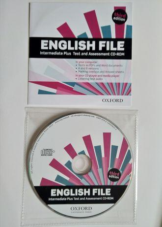 English File intermediate plus 3rd third edition testy Płyta