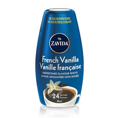 "French Vanilla Flavor Shots To Go""Сироп Zavida Французская Ваниль""48ml"