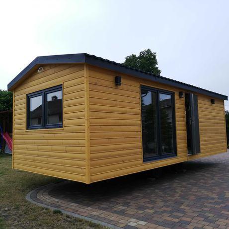 Domek mobilny, całoroczny, drewniany, dostępny od zaraz