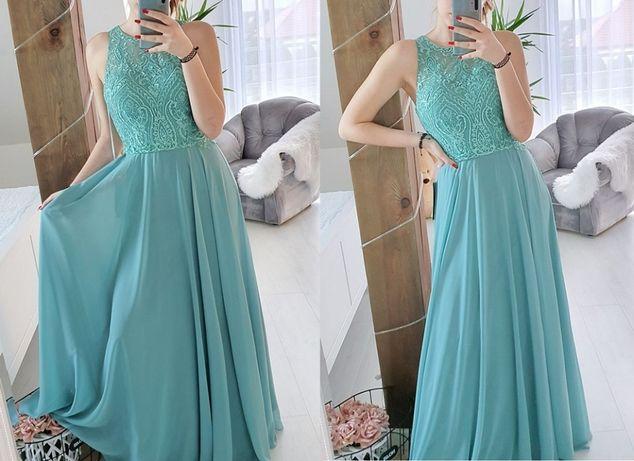 Luxuar Fashion piękna sukienka wieczorowa xs