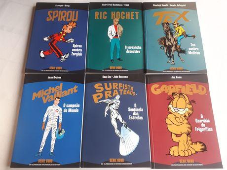 3 Comics da Série Ouro clássicos da BD