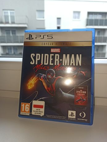 Spider man miles morales ps5  kod wykorzystany