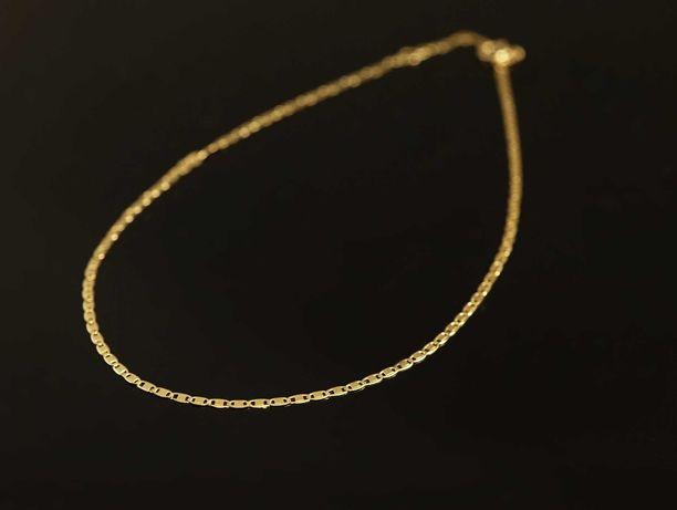 Złoto 585-złota bransoletka na nogę