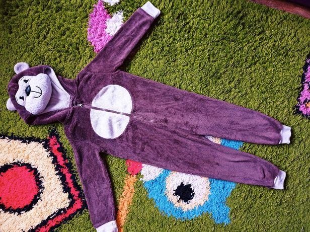 Супер цена! Теплая пижама кигуруми 110/116