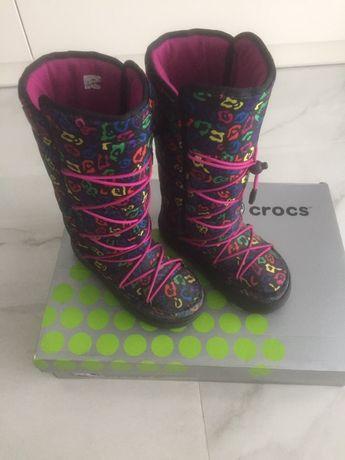 Buty sniegowce Crocs moon boots 35-36