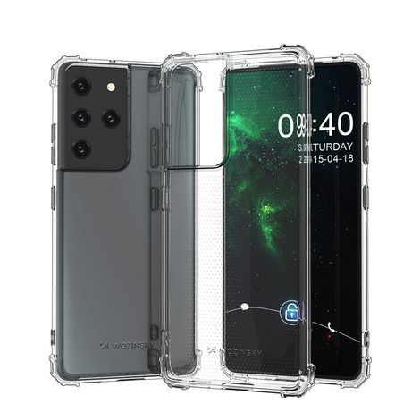 Capa Anti Shock Grade Samsung Galaxy S21 Ultra 5G Transparente