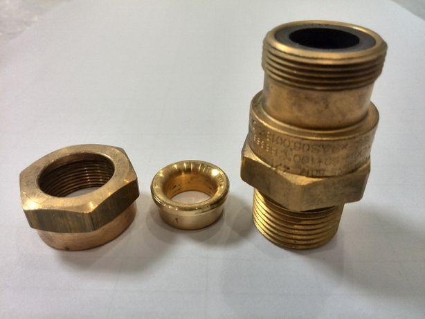 Ввод кабельный латунный взрывозащищенный HAWKE 501/421, М20х1,5