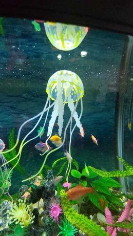 Medusa artificial colorida