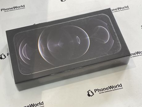Nowy zafoliowany Iphone 12 pro max 256gb szary gwarancja PhoneWorld