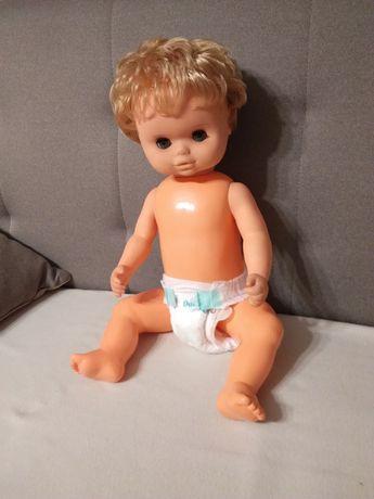 Duża lalka z PRL