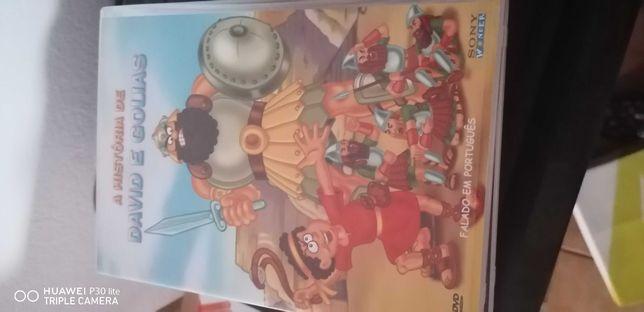 DVD Biblicos animados