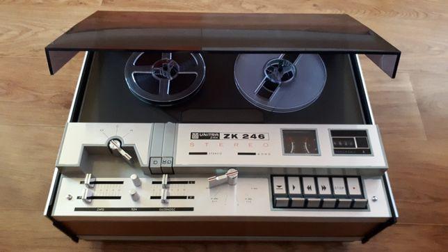 Magnetofon szpulowy ZK 246