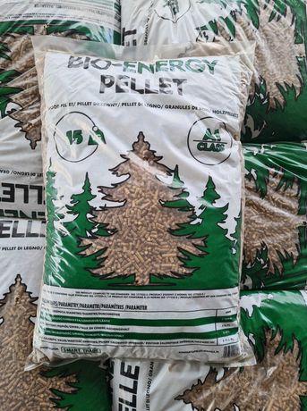 BIO-ENERGY Pellet drzewny 6mm A1 ekogroszek olczyk sosnowo dębowy