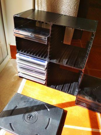 Suportes e Caixas CD / DVD
