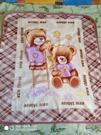 Плед детский одеяло