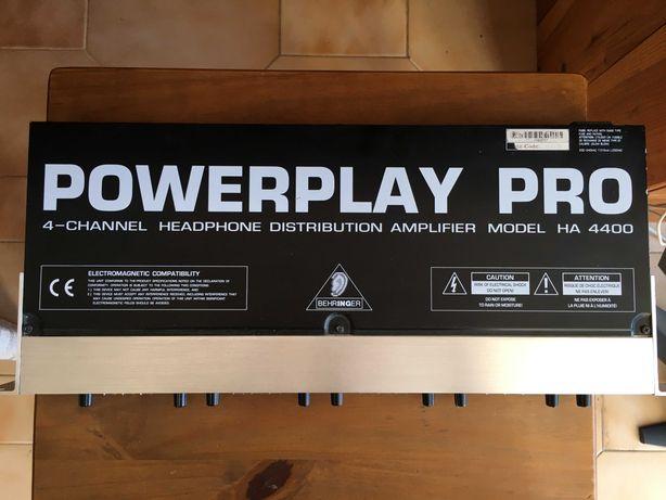 Amplificador Behringer Powerplay Pro HA 4400