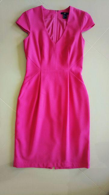 Sukienka różowa 36-s
