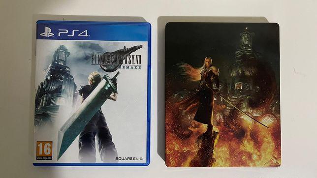 Jogo PS4 - Final Fantasy VII Remake (Deluxe Edition)