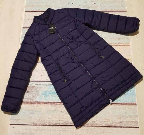 LTB nowy lekki granatowy płaszczyk kurtka L