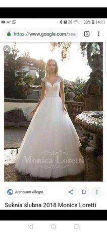 Sprzedam suknię ślubną dla kobiety w ciąży i nie tylko.