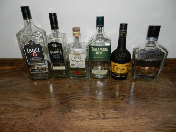 Butelki po alkoholach