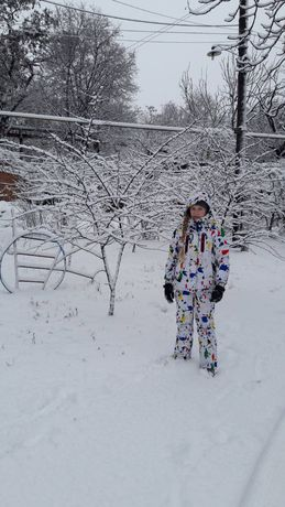 Детский лыжный костюм, для мальчика или девочки