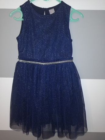 Sukienka granatowa elegancka