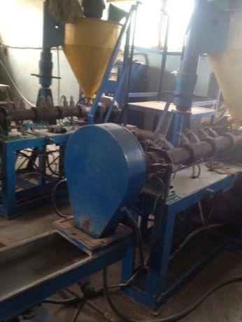 продам оборудования для переработки полиэтиленовой пленки
