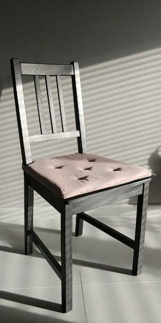 Komplet 6 drewnianych krzeseł