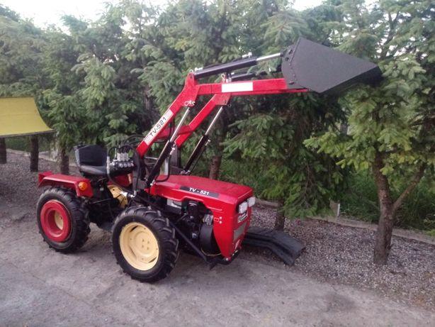 Traktorek Ogrodniczy TV-521 mini ładowarka TUR ZAMIANA tz-4k-14 KUBOTA