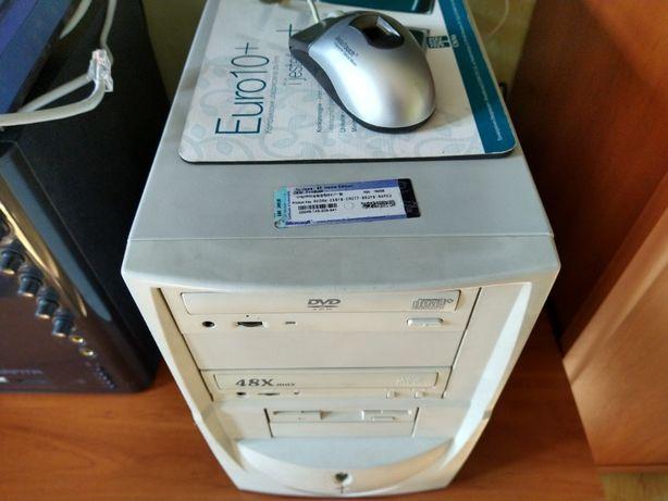 Komputer do biura system XP i pakiet biurowy Office