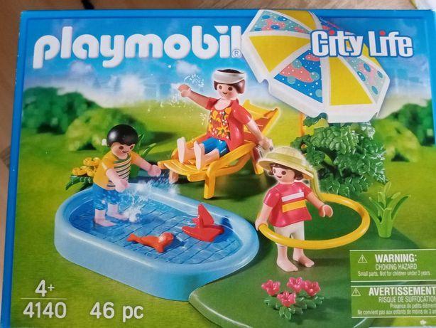 Klocki Playmobil Basen ogrodowy 4140 nowe!