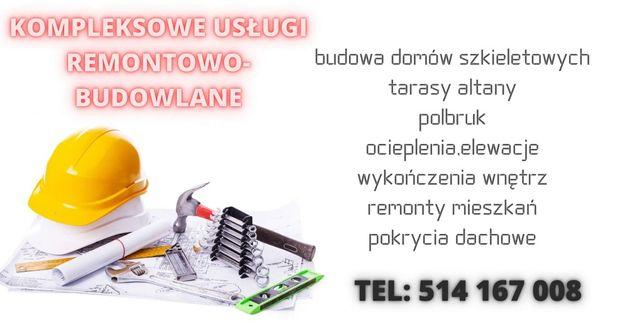 Remonty,usługi ogólno budowlane, malowanie, szpachlowanie, Polbruk!