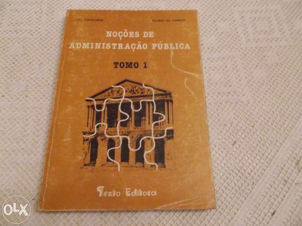 Livro Noções de administração Pública