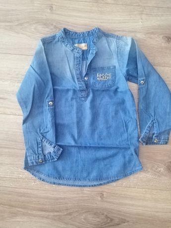 Koszula jeans bluzka cool Club 110