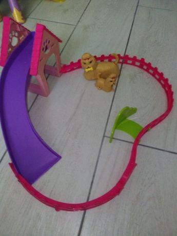 Plac zabaw dla piesków Barbie
