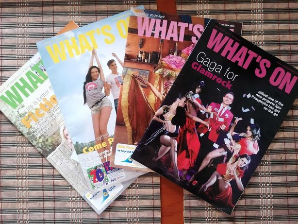 Журналы на английском языке What's on 2012 года
