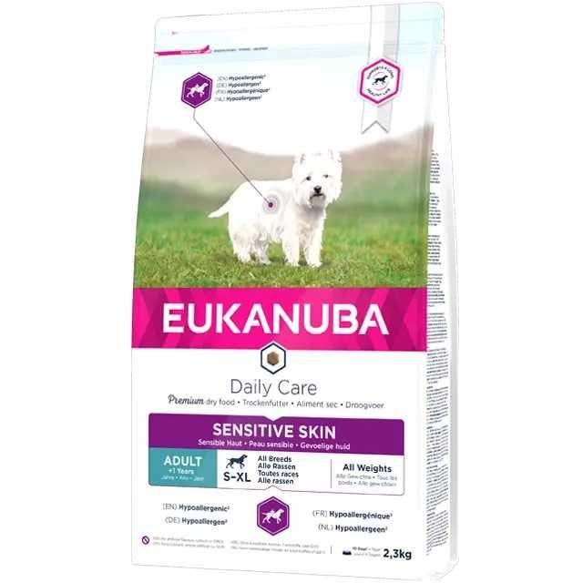 Eukanuba SKIN CARE, SENSITIVE DIGESTION, OVERWEIGHT STERILISED