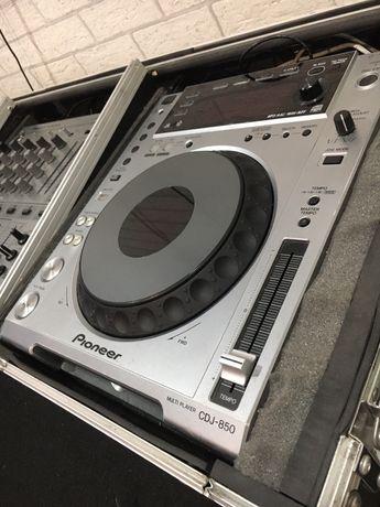 pioneer cdj 850 mixer djm 600  idealny stan techniczny