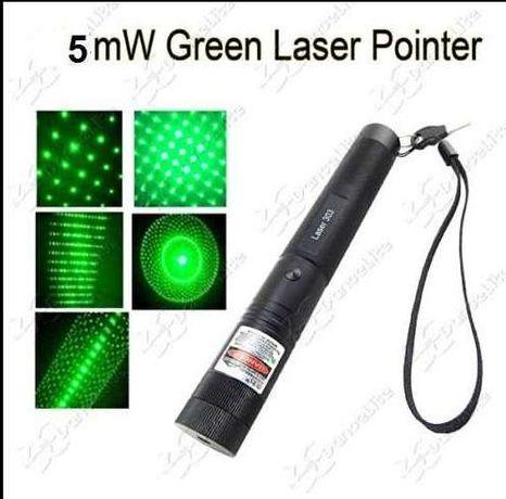 10-miles-Green-5mw-532nm-Laser-Pointer-Pen-Lazer NOVO