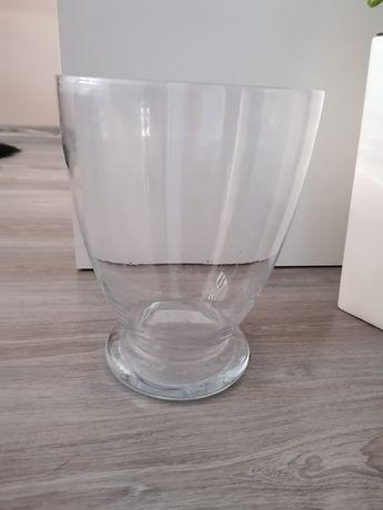 Wazon szklany przezroczysty