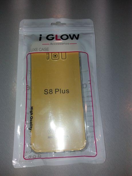 Samsung Galaxy S8 plus etui siliconowe Nowe